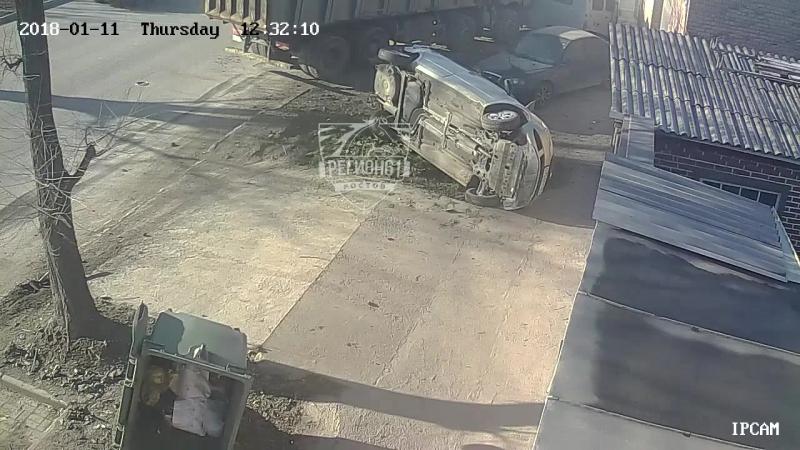 Крупное ДТП на Нансена, 11.01.2018