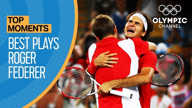 Roger Federer's best points at the Olympic Games Top Moments