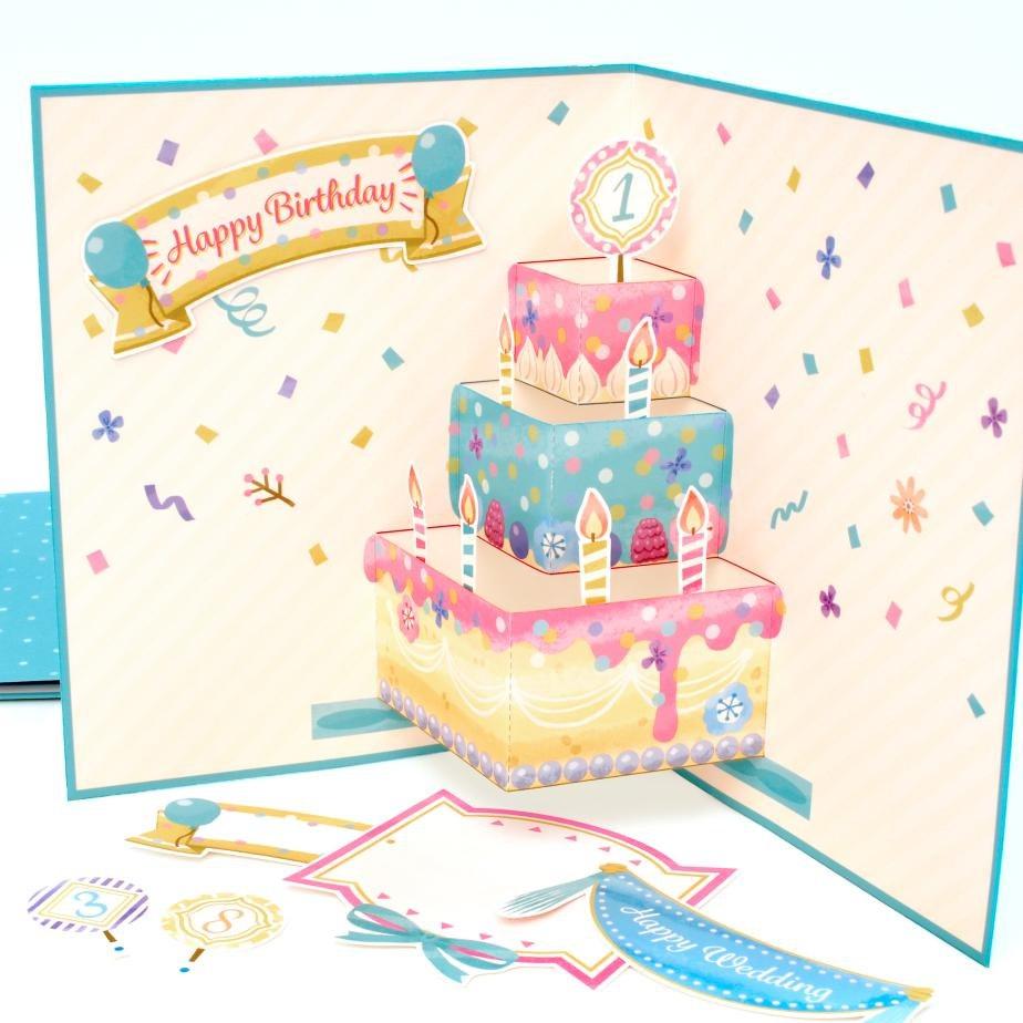 Открытки с днем рождения своими руками шаблоны торт, днем рождения без
