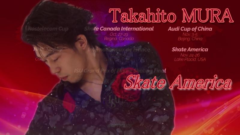 Takahito MURA Skate America 2017. Men - SP