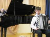 Выпускной в Музыкалке 2008 Джамиля и Артем ч1