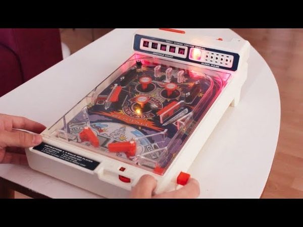 Atomic Arcade Pinball LED Mod (1979 Flipper Toy by Tomy)