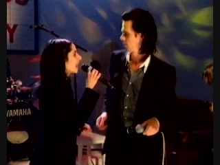 Nick Cave + PJ Harvey (The Bad Seeds) - Live - Stagger Lee + Henry Lee at The White Room Show 1996