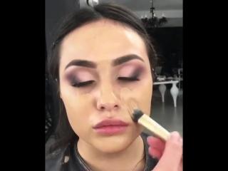 Суперский макияж в нежных оттенках 😍🌸💕
