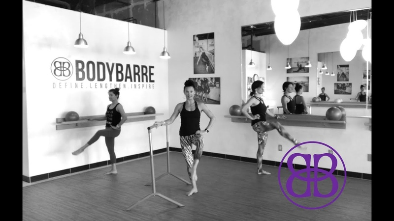 Round the World ATTITUDE Inner THIGH ASSAULT Barre workout with PAIGE