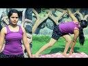 How to do Parivrtta Trikonasana (Revolved Triangle Pose) |Morning Yoga Asana Workout