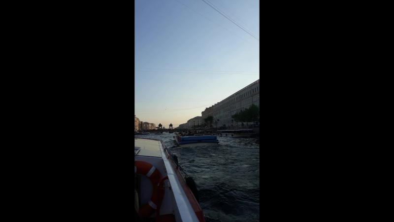 15.05.2018 прогулка по рекам и каналам Петербурга