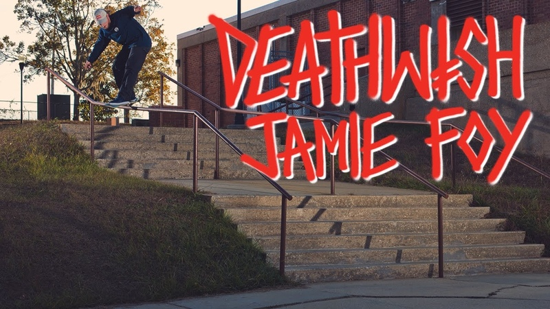 Deathwish Skateboards Jamie Foy Welcome To Deathwish