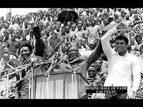 Muhammad Ali Very Funny Training for George Foreman in Zaire 1974