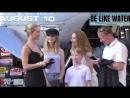 Рози и Джейсон на премьере фильма «Мег Монстр Глубины», 6 августа, Лос-Анджелес