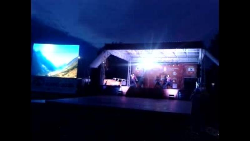 Концерт группы Ингушетии в городе Ирбите.