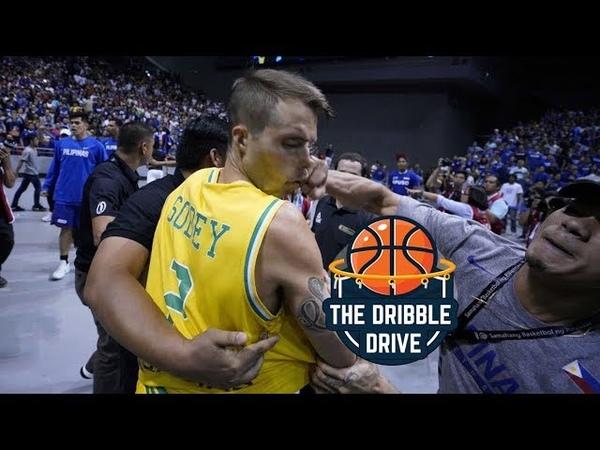 Australia v Philippines FIGHT FIBA WORLD CUP QUALIFIERS