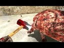 Serious Sam 3, бык оборотень vs кувалда, уровень сложности - сэм(х51)