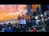 Большая пресс-конференция Владимира Путина 2017