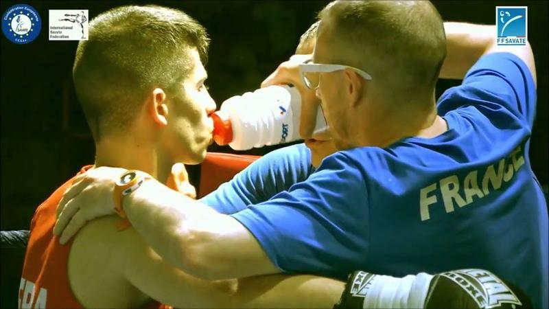 САВАТ (SAVATE) Roko DOZDOR (Croatia) vs Hugo FALGARONNE (France)