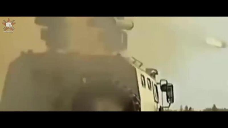 Корнет-Д гоняет боевиков в Сирии!