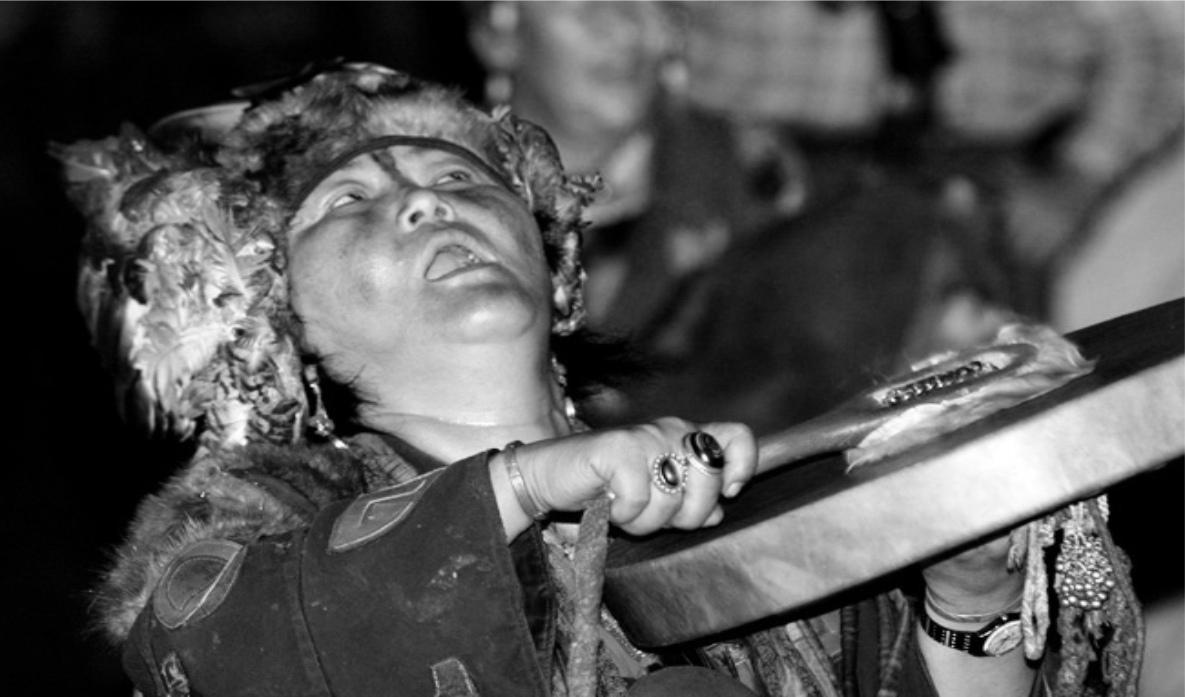 """Валентина Харитонова. """"Призрак бродит по России - призрак шаманизма..."""""""
