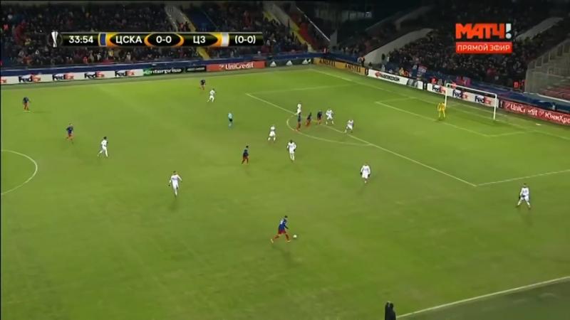 ЦСКА - Црвена Звезда. Обзор ответного матча 1/16 Лига Европы