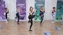 Marisol Sarabia Cardio Dance and Boxing Workout Кардио тренировка с элементам боевых искусств и танца