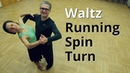 Waltz Basic Routine with Running Spin Turn | Dance Lesson