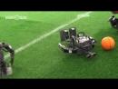 Робофутбол Рома казанский против корейского ROBOTIS OP3