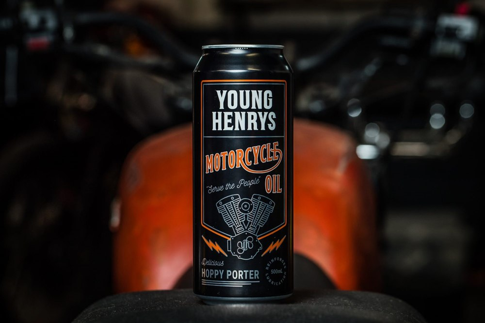 Мотопиво Young Henrys Motorcycle Oil