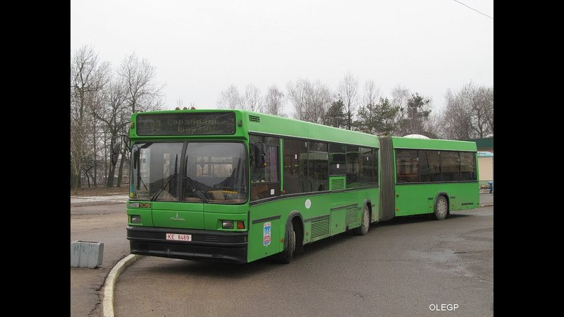 Поездка на автобусе МАЗ-105,гос.№КЕ 8469