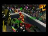 Капитан Америка и Железный Человек против Халка и Красного Халка