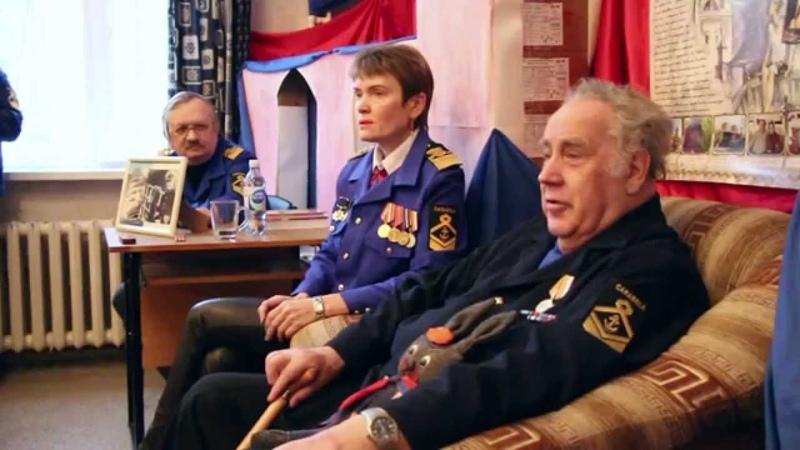 Каравелла. Владислав Крапивин общается с детьми