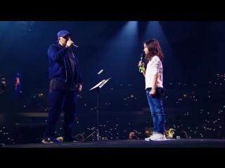 Баста с дочкой поют - сансара собрали 30000 зрителей