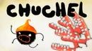 Chuchel ЧУЧЕЛ vs ВСТАВНЫЕ ЧЕЛЮСТИ Весёлое безумие в мульт игре ПРО ЧЕРНОГО ЗВЕРЬКА
