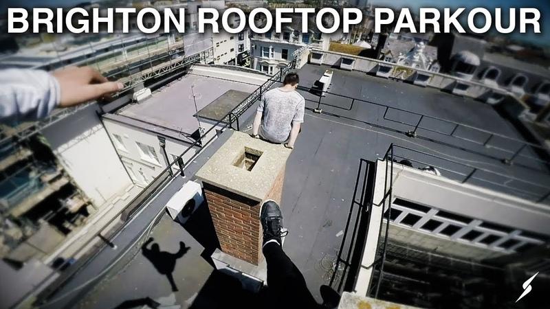 Brighton Rooftop Parkour POV