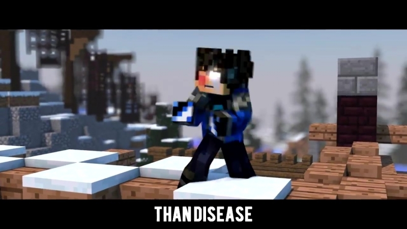 'Cold as Ice' - A Minecraft Original Music Video ♫_HD.mp4