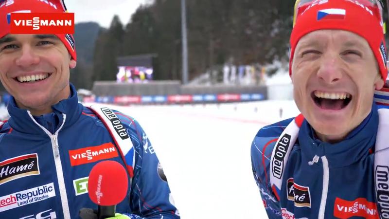Михал Крчмарж и Ондржей Моравец (январь 2017)