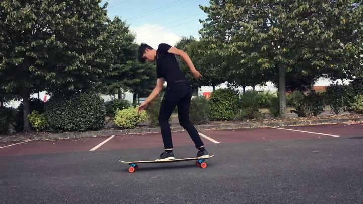Mathis lucas on Instagram 🌚 Full cab mania filmed by @marinnoblet ⚡️⚡️ longboard""