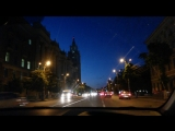 Ночной Воронеж (проспект Революции)