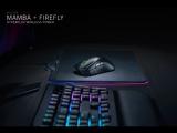 Razer Mamba HyperFlux и коврик Razer Firefly HyperFlux