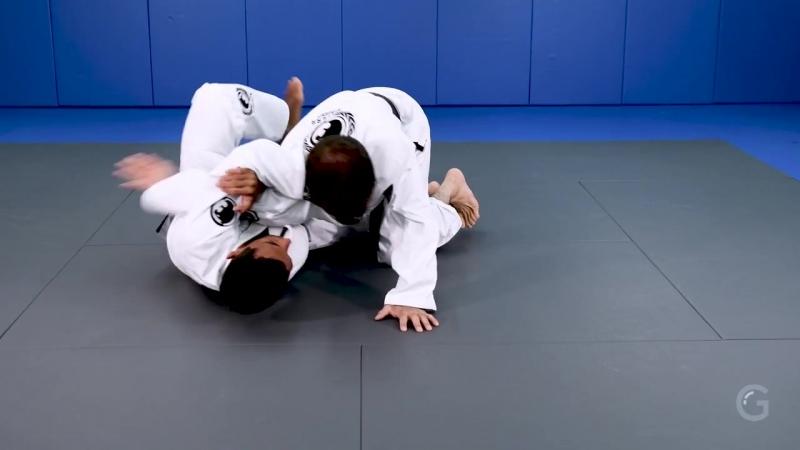 Renzo Gracie Online Academy - Half Guard- Double Attack - Choke Arm drag- André Monteiro