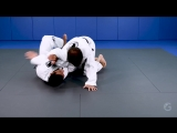 Renzo Gracie Online Academy - Half Guard- Double Attack - Choke + Arm drag- André Monteiro