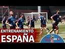 Mundial 2018 I Entrenamiento de la Selección I Diario AS