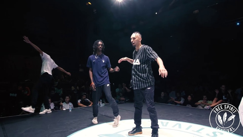 Free Spirit Festival 2018 Championship Hip Hop Semi-Final | Dykens Zyko vs. Ukay Miracle | Danceproject.info