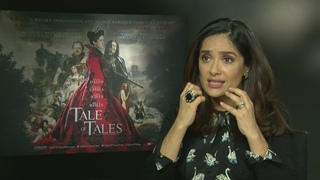Salma Hayek on eating a heart for Tale of Tales!