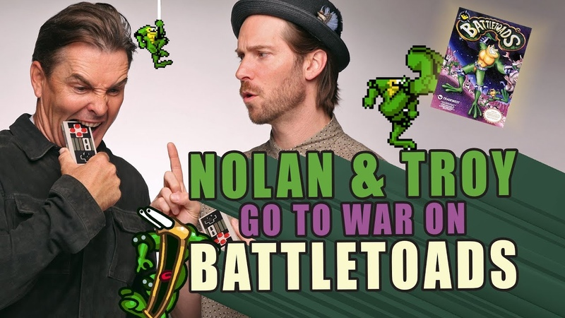 RETRO REPLAY - Nolan North and Troy Baker go to war on Battletoads