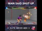 MAN SAID SHUT UP ShakzLDN EliteSeries SFV