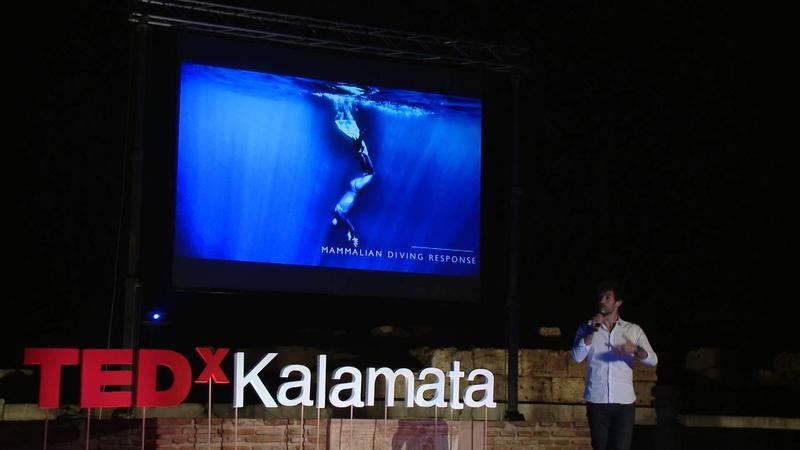 A glimpse of infinity | Guillaume Nery | TEDxKalamata