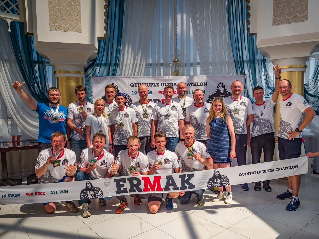 На Урале прошел пятикратный ультратриатлон Ermak