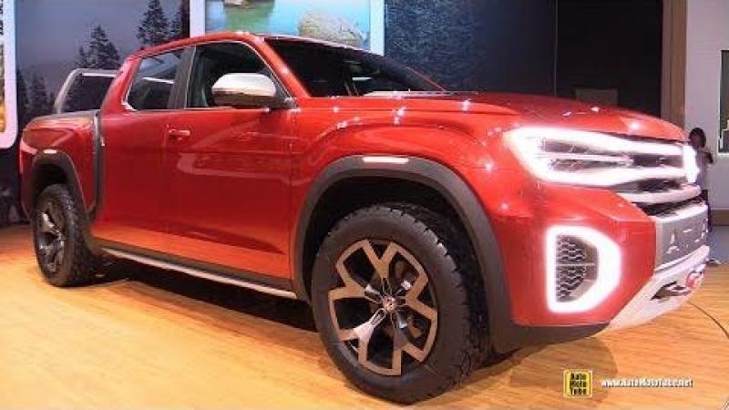 Volkswagen Atlas Tanaok Concept - Exterior and Interior Walkaround - 2018 New York Auto Show