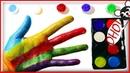 СЕМЬЯ ПАЛЬЧИКОВ НА РУССКОМ Поем песенку про пальчики Finger Family и учим цвета