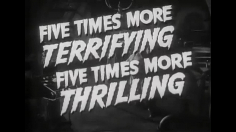 House of Frankenstein 1944 The Ghastly Ones Surfin Spooks surf trailer