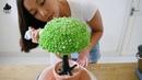( lakomkavk) bonsai cake decorate tutorial